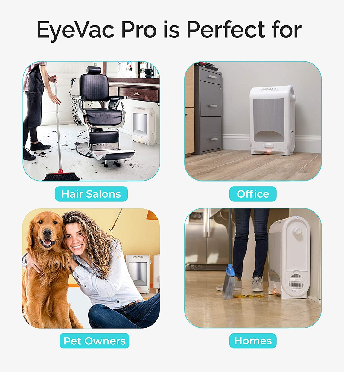 CrowleyJones(クローリージョーンズ) Eye-Vac Professional Vacuum Cleaner EVPRO-Wの商品画像5