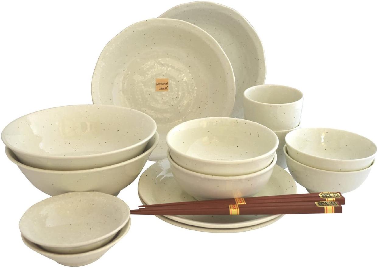 Aito(アイトー) 美濃焼 和食器 ナチュラルホワイト 197742 16点入の商品画像