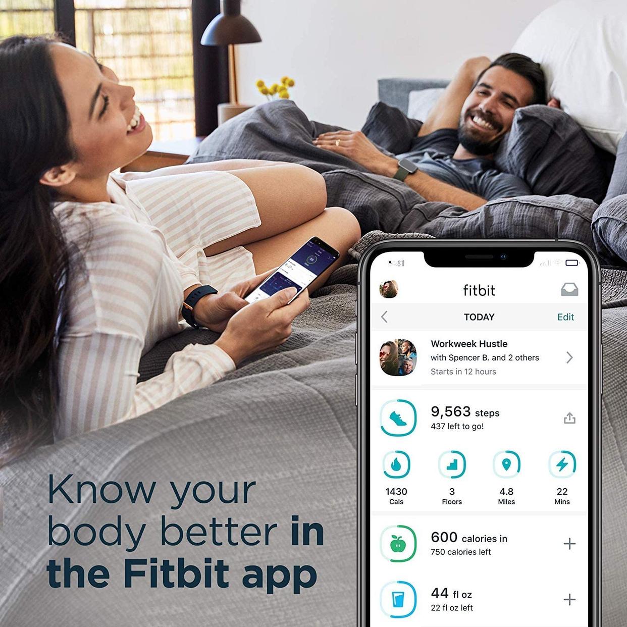Fitbit(フィットビット) Fitbit Versa 2 FB507BKBK-FRCJKの商品画像9