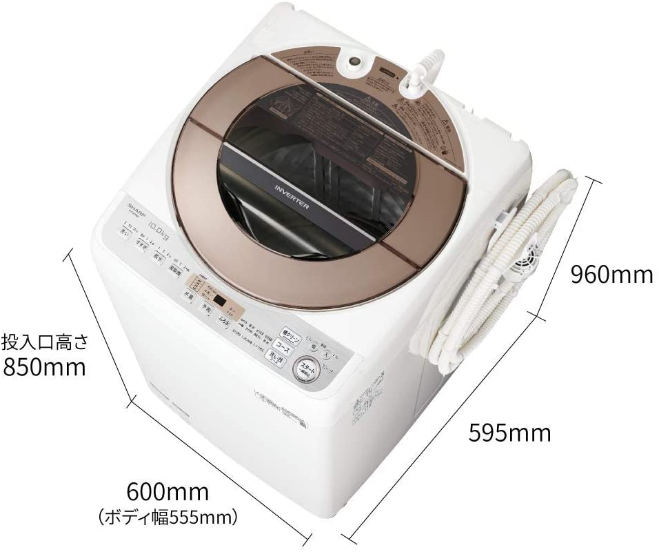 SHARP(シャープ) 全自動洗濯機 ES-GV10Dの商品画像2