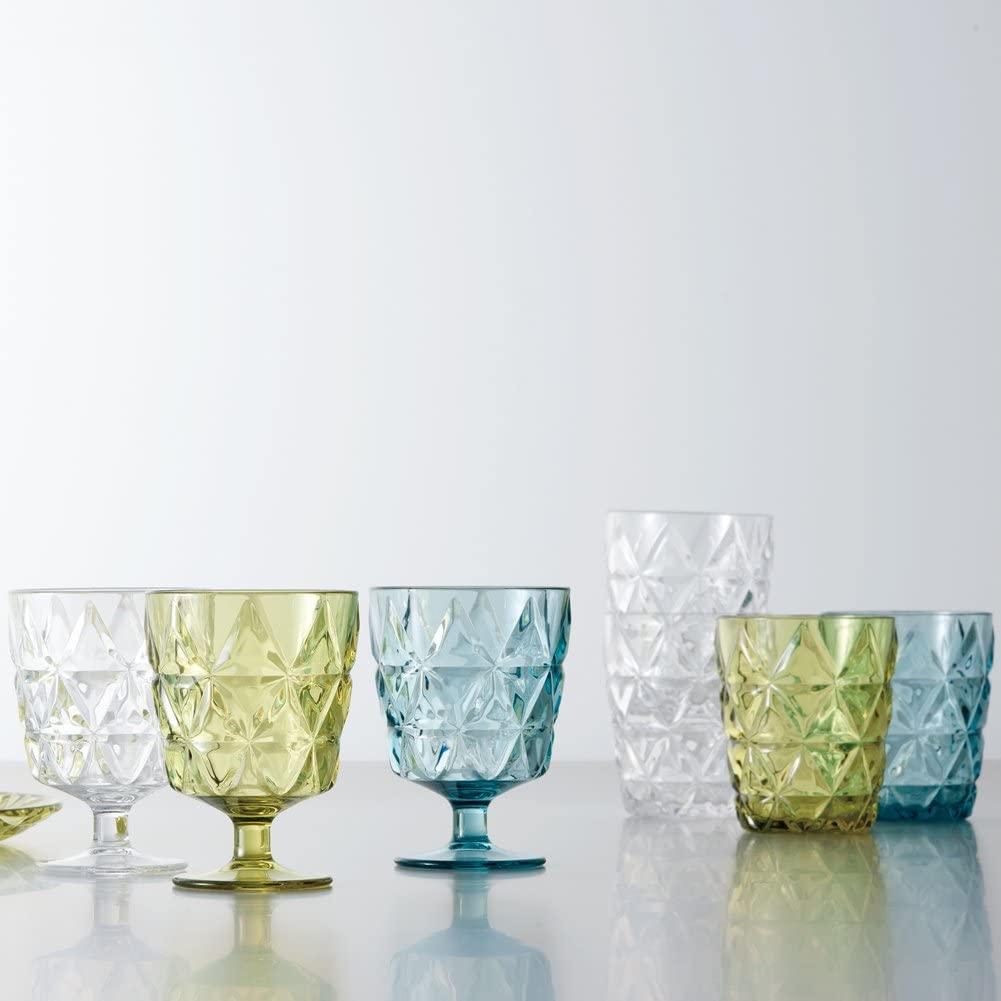 KINTO(キントー) TRIA ワイングラス 270ml イエローグリーン 23155の商品画像3