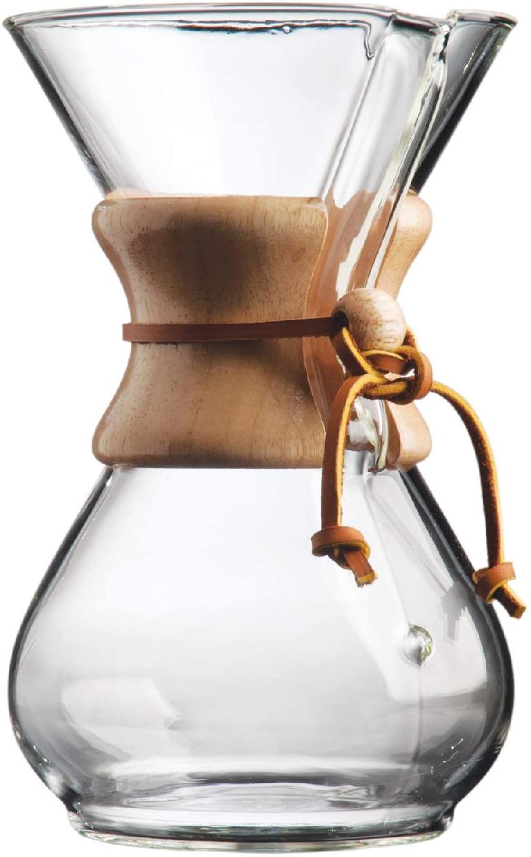 CHEMEX(ケメックス) コーヒーメーカー 6カップ CM-6A クリアの商品画像