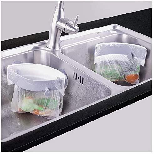 Homekirei(ホームキレイ) 三角コーナー 開閉可能生ゴミ袋ホルダーの商品画像