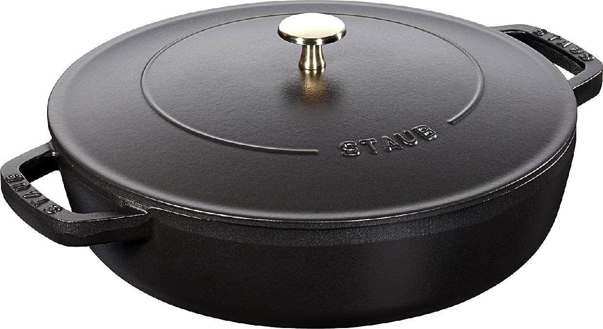 staub(ストウブ)ブレイザー ソテーパン 24cm ブラック (40511-473-0)の商品画像