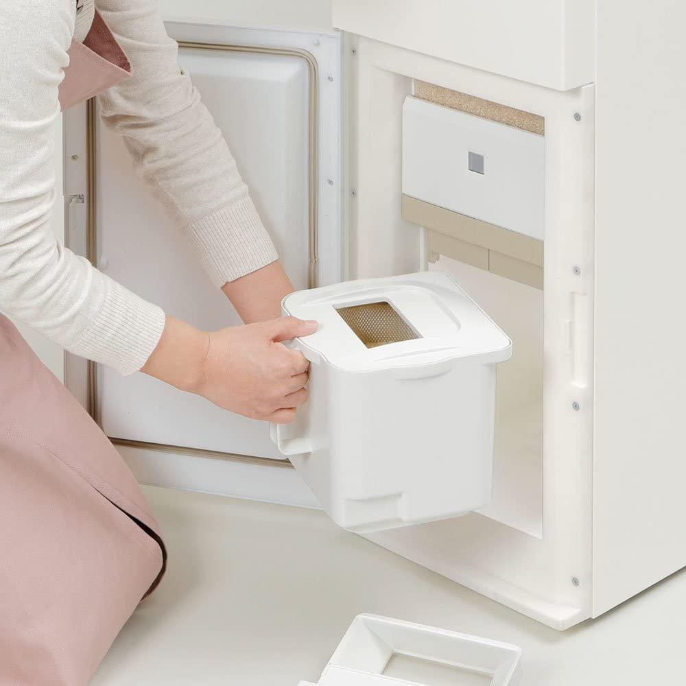 エムケー保冷精米機米冷え~る + mill NCP-10W ホワイトの商品画像2