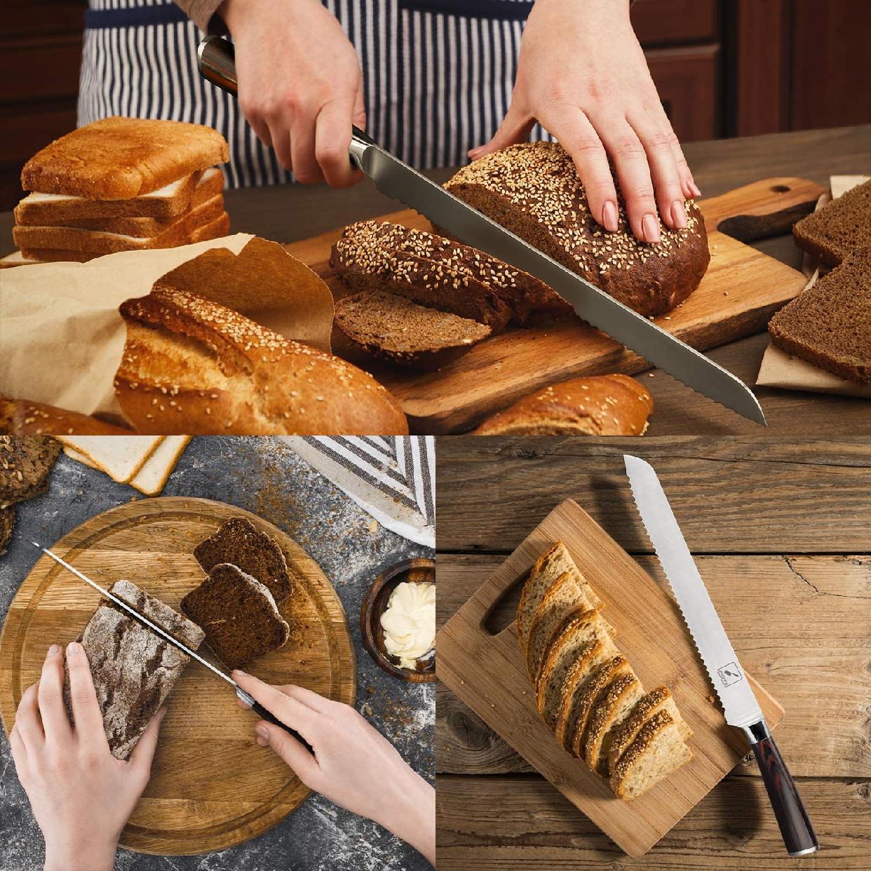 imarku(イマルク)ブレッドナイフ 10インチ シルバーの商品画像5