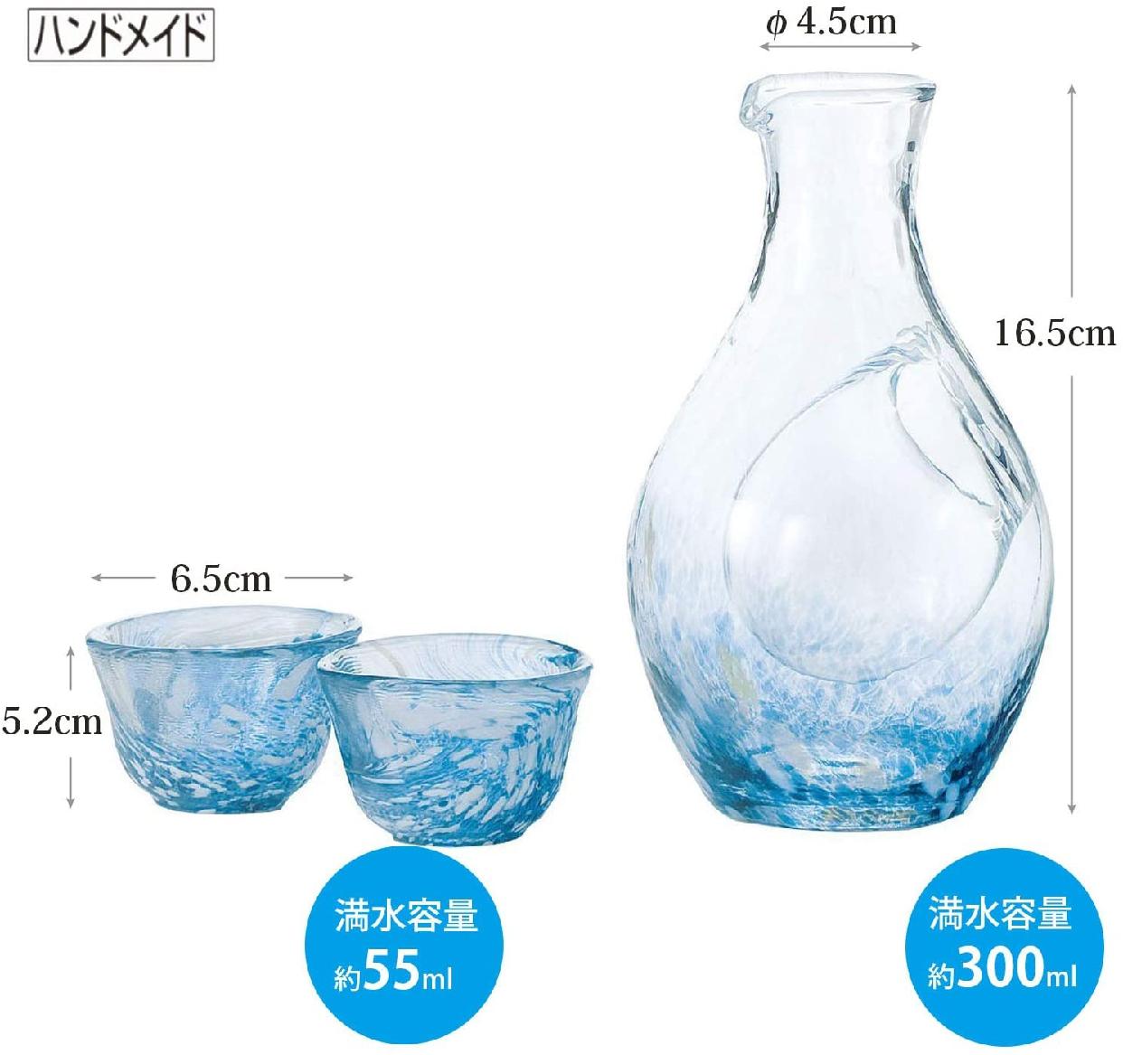 東洋佐々木ガラス(とうようささきがらす)日本酒グラス 冷酒セット G604-M70の商品画像3