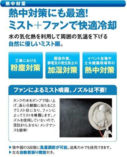 NAKATOMI(ナカトミ) 遠心式ミストファン(全閉式) MISF-45の商品画像2