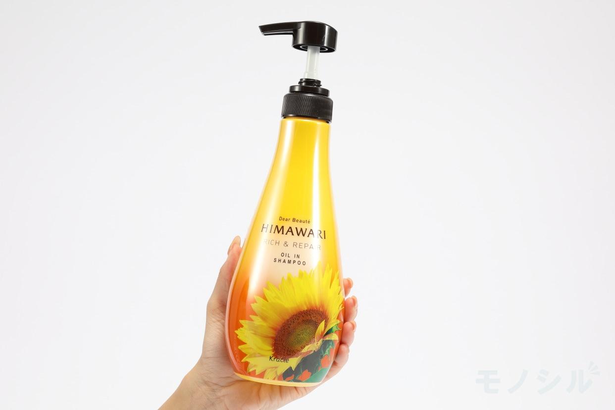 Dear Beauté HIMAWARI(ディアボーテ ヒマワリ) オイルインシャンプー (リッチ&リペア)の手持ちの商品画像