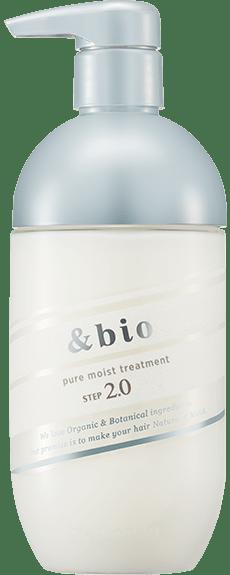 &bio(アンドビオ) ピュアモイスト ヘアトリートメント2.0