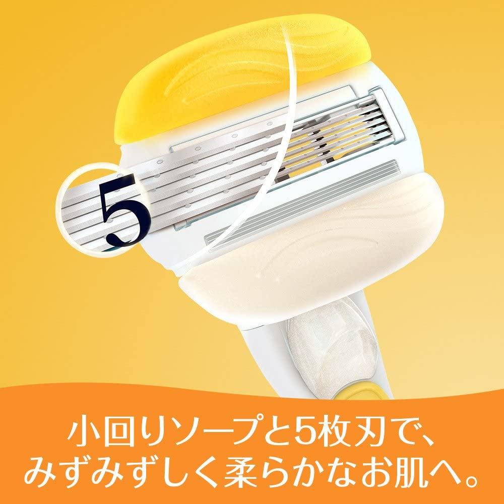 Gillette(ジレット)コンフォートスムース スキンコンディショナー配合の商品画像5