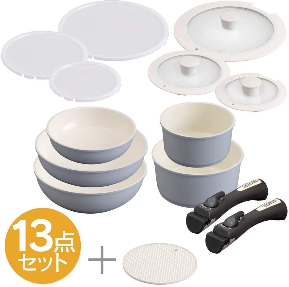 IRIS OHYAMA(アイリスオーヤマ)セラミックカラーパン 6点セットの商品画像10