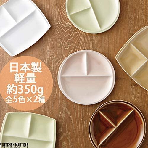 titto(チット) 3つ仕切皿(角) 白 P37501の商品画像5