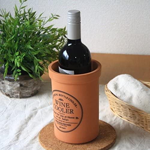 セラポッケ 陶器製ワインクーラー ts-0003 ブラウンの商品画像
