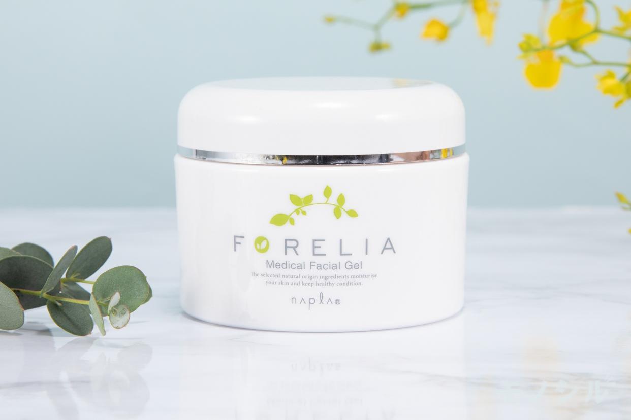 Napla(ナプラ)フォーレリア メディカルフェイシャルゲルの商品のパッケージ正面