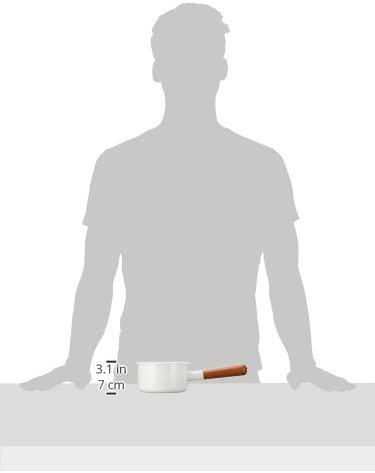POCHKA(ポーチカ)ミルクパン 12cm PO-12M ホワイトの商品画像2