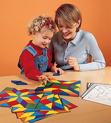 Learning Resources(ラーニングリソーシズ) Parquetry Blocks Super Set LER0289の商品画像5