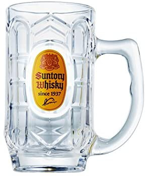 SUNTORY(サントリー) 角ハイジョッキ グラス 375mlの商品画像