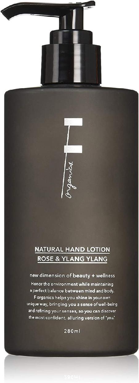 F organics(エッフェオーガニック) ナチュラルハンドローションの商品画像