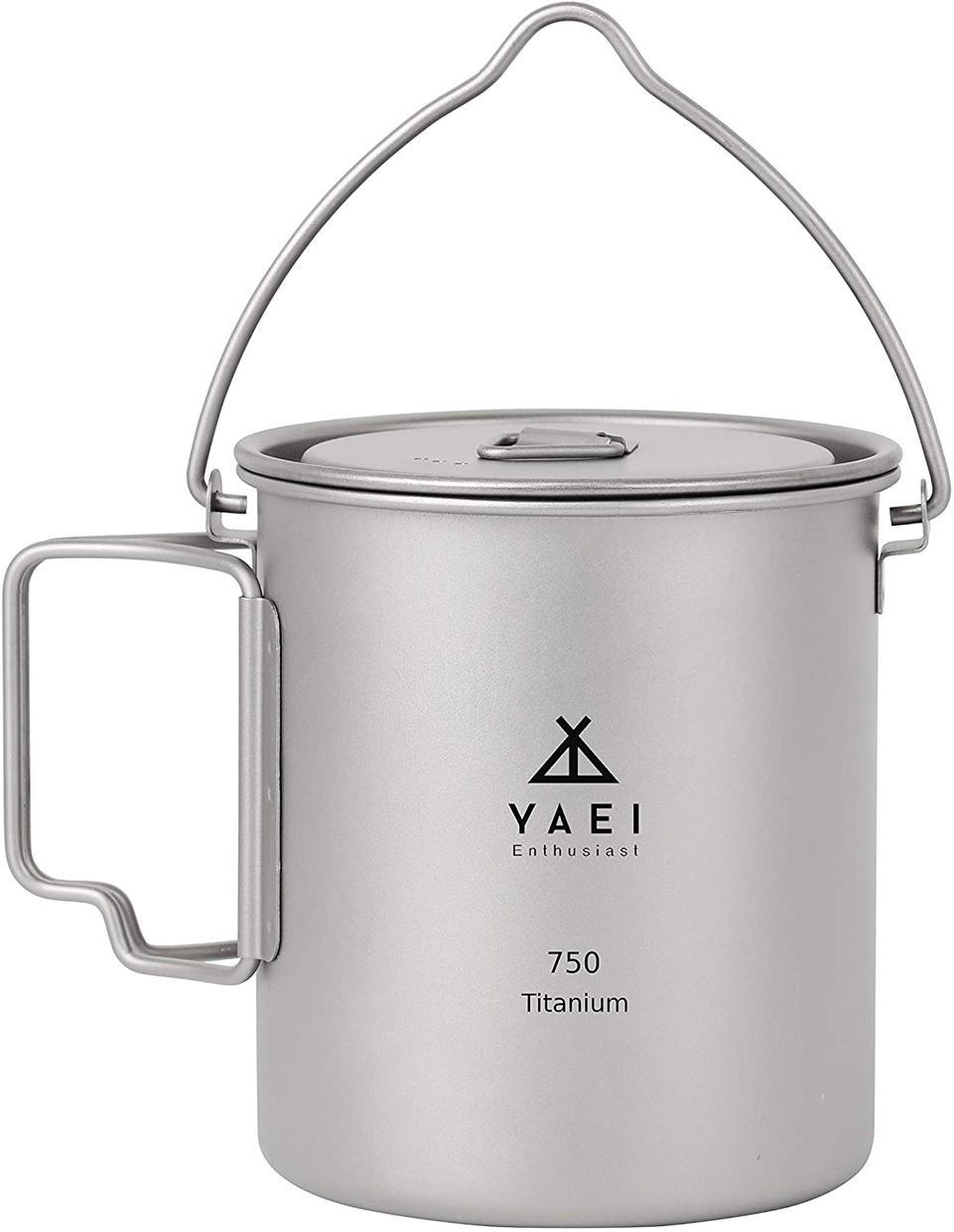 野営エンスージアスト(YAEI Enthusiast) チタン マグカップの商品画像