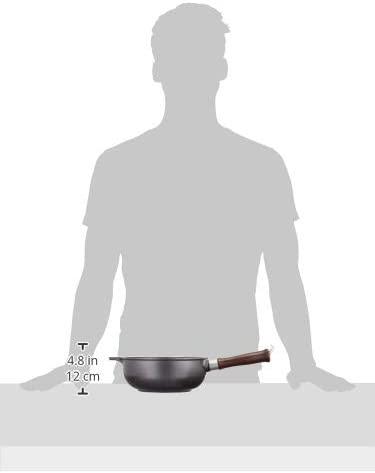 味わい鍋(あじわいなべ)片手鍋 ブラック 直径20cmの商品画像6