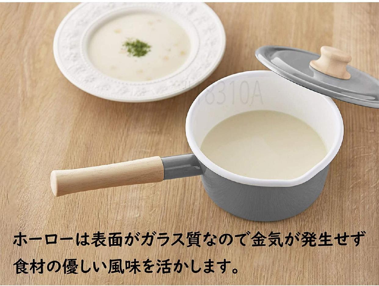 Cotton Series(コットンシリーズ)ソースパン 16cm CTN16S.LGの商品画像4