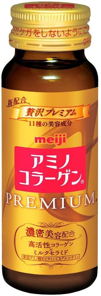 明治(meiji) アミノコラーゲンプレミアムドリンクの商品画像2