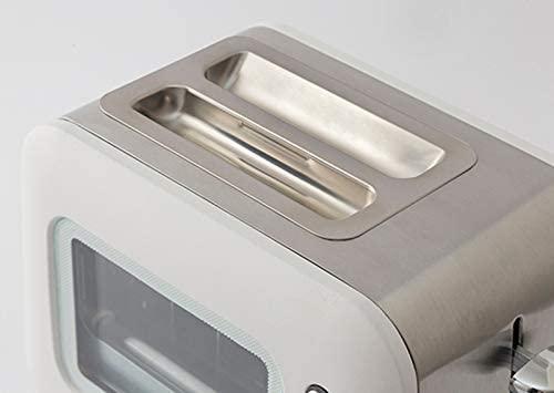 LUCTUS(ラクタス) 焼き目の見えるポップアップトーター ホワイト SE6100の商品画像3
