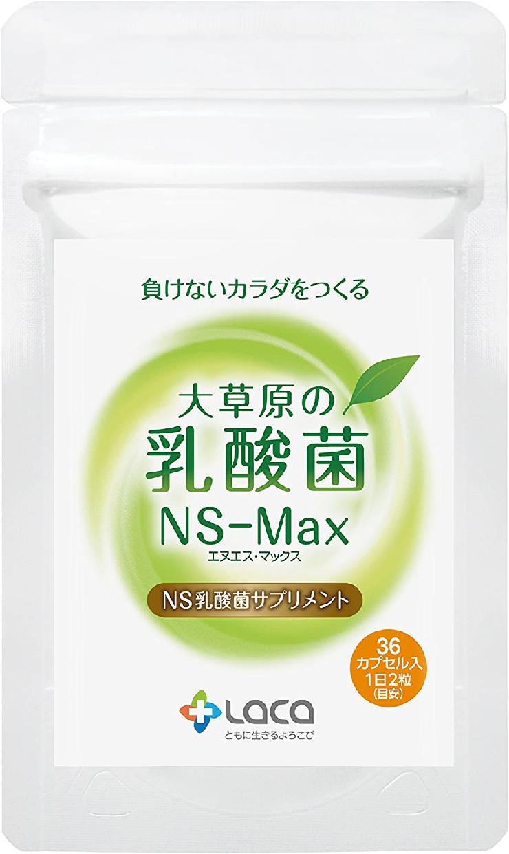 位:ラクア 大草原の乳酸菌 NS-Max(36粒)