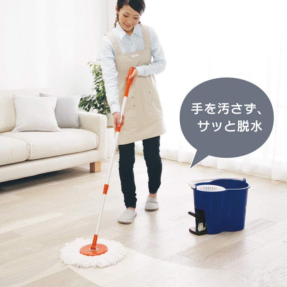 IRIS OHYAMA(アイリスオーヤマ) 回転モップセット KMO-450の商品画像3