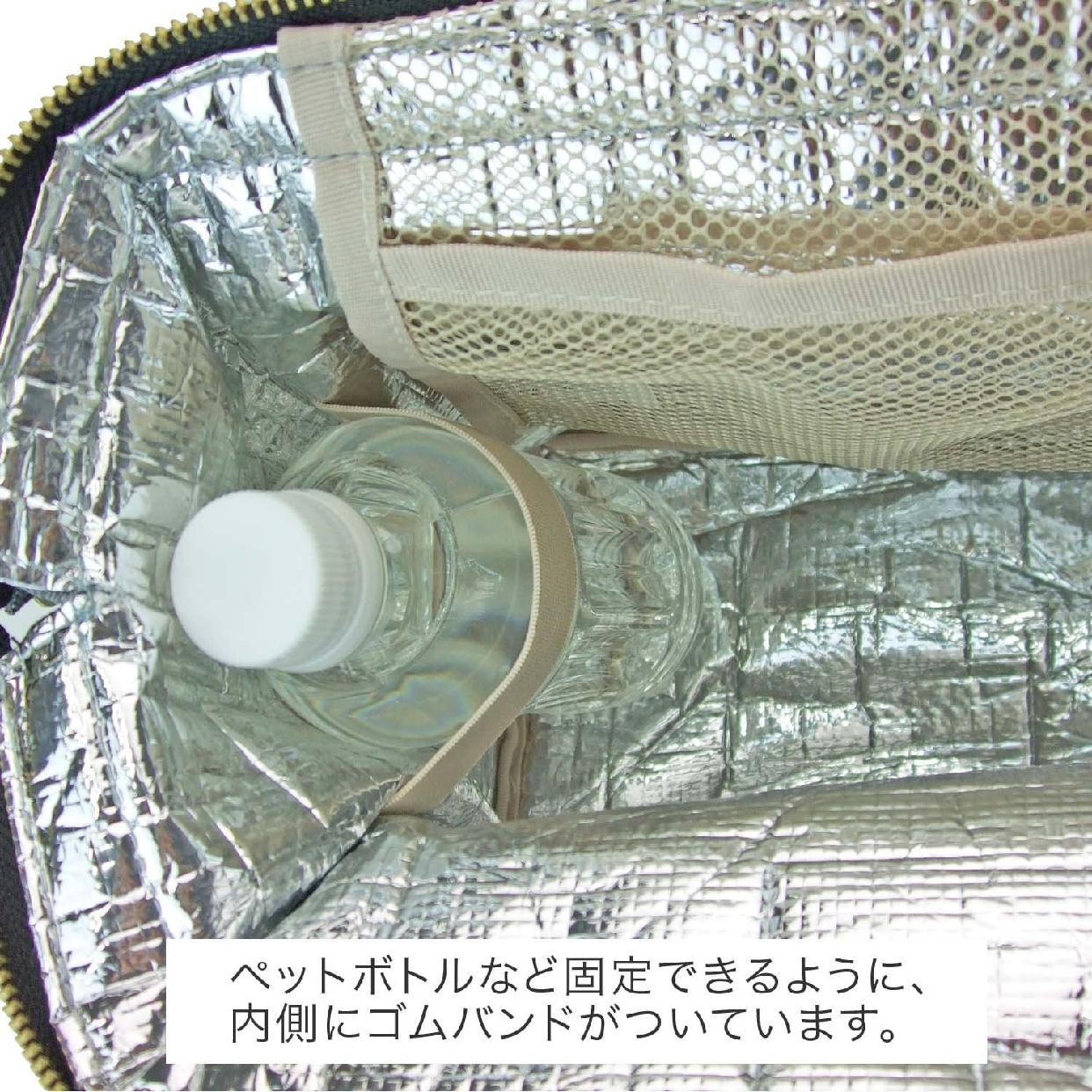 At First(アットファースト)カラーズ ランチワイヤーバッグ Lサイズ レッド AF5997の商品画像5