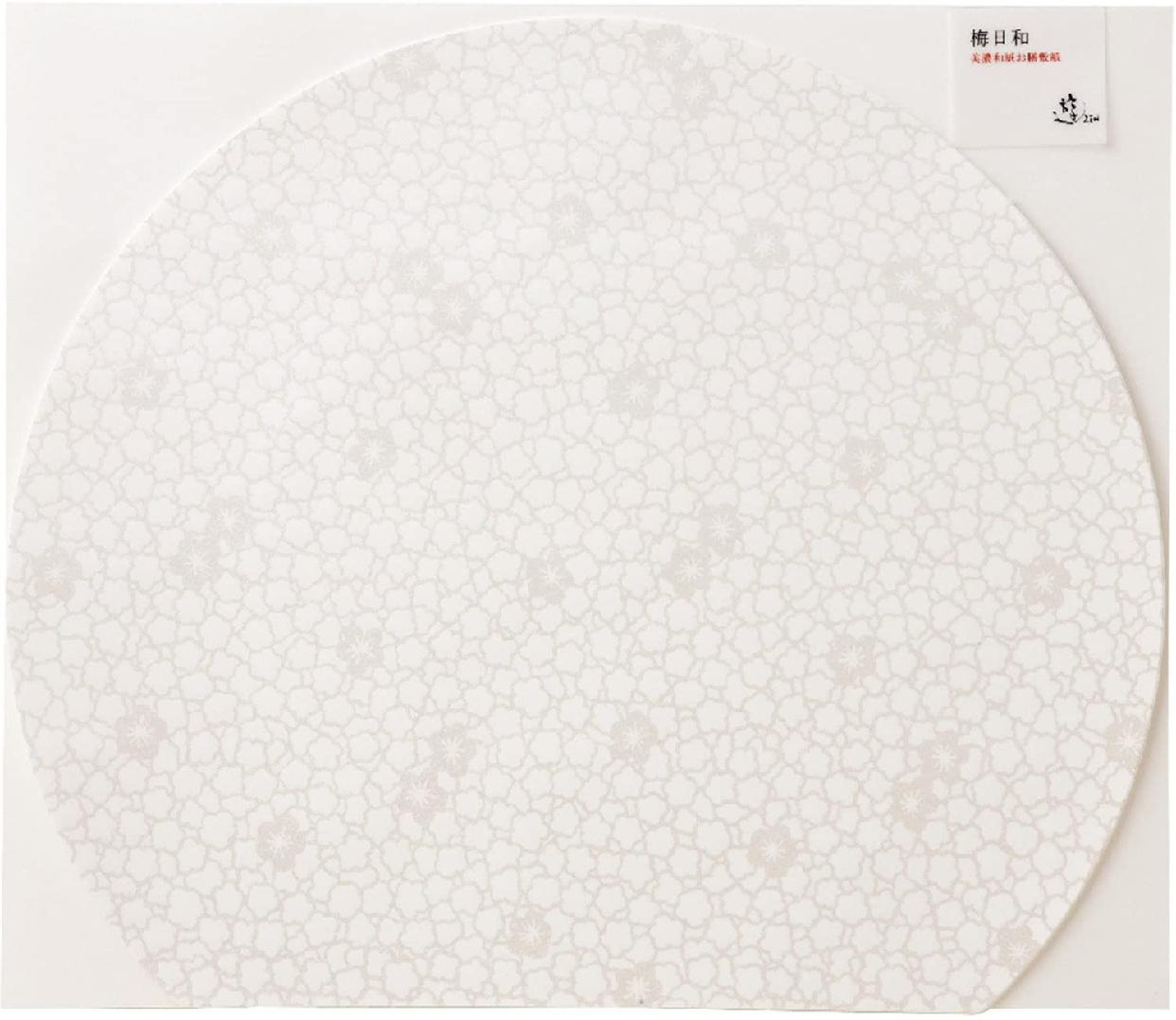アーテックお膳敷紙 梅日和 白梅 SUB-01-G5の商品画像