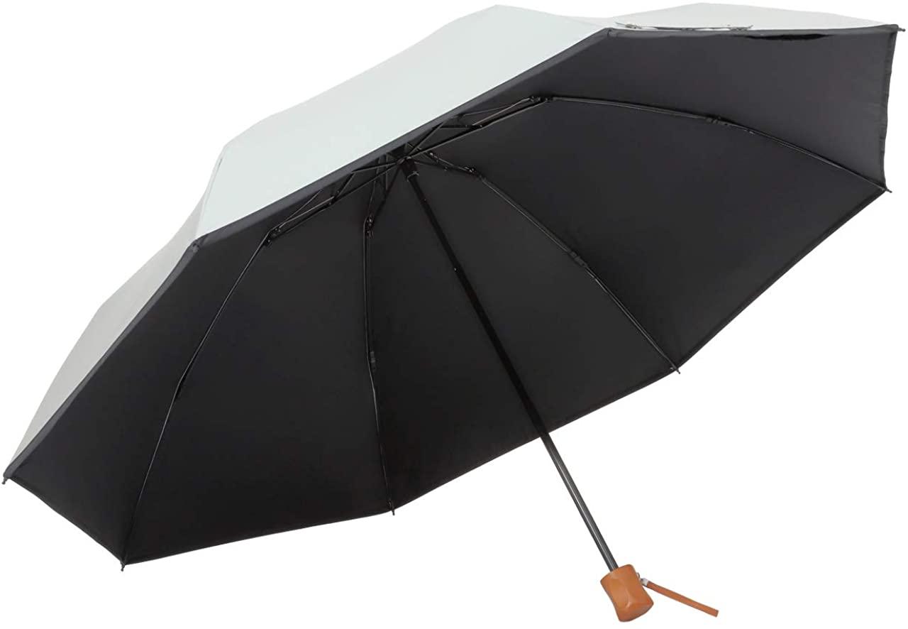 Lieben(リーベン) 日傘 晴雨兼用 大きい3つ折傘 ひんやり傘の商品画像