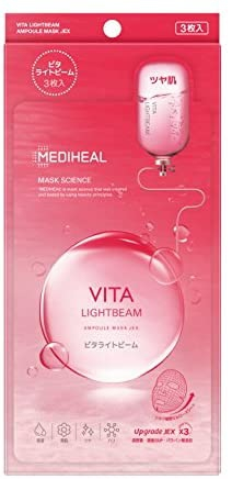 MEDIHEAL(メディヒール) ビタライトビーム アンプルマスクJEXの商品画像
