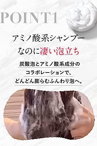 肌ナチュール(HADA NATURE) 炭酸ヘッドスパシャンプーの商品画像3