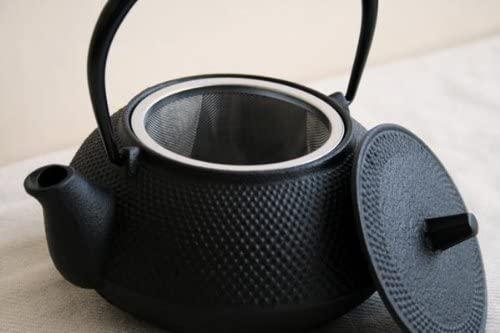 岩鋳(Iwachu) 鉄瓶兼用急須 5型新アラレ ブラックの商品画像6