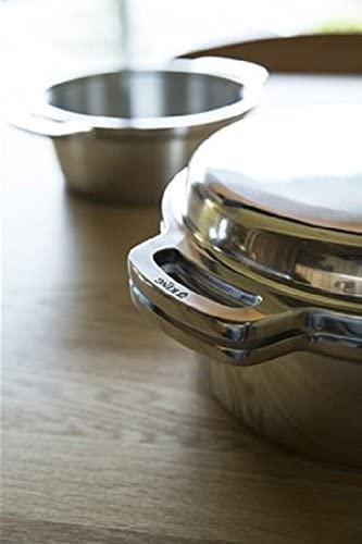 ハルムスイKING無水鍋®24 600034 シルバーの商品画像8