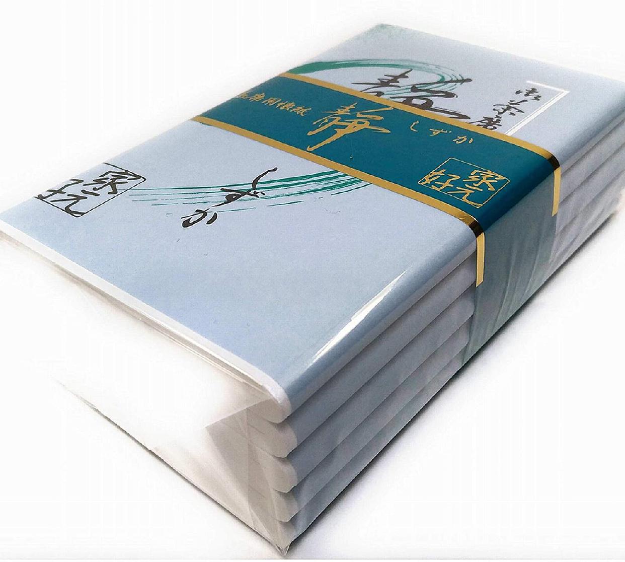 徳増茶道具(トクマサドウグ) 静懐紙 無地 女性用 150枚の商品画像