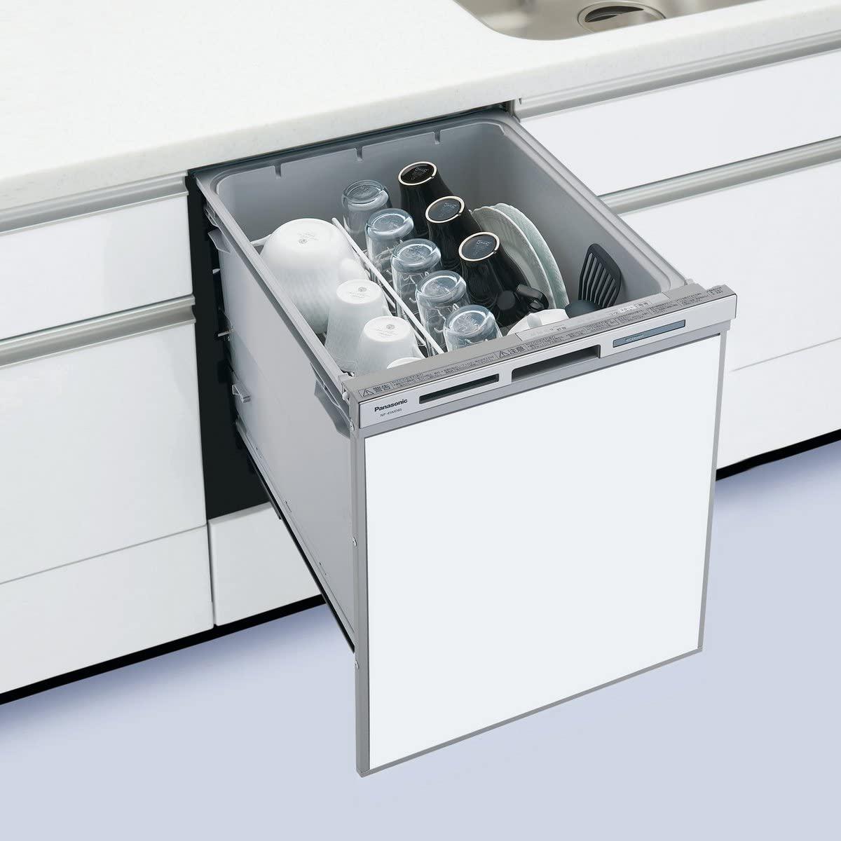 Panasonic(パナソニック) ビルトイン食器洗い乾燥機 NP-45MD8Sホワイトの商品画像2