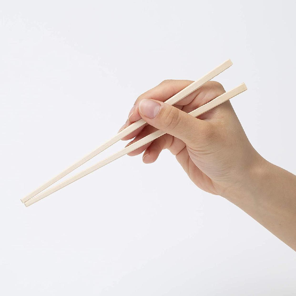 HouseLab(ハウスラボ)元禄割箸 袋入り 100膳 AR-002 20.5cmの商品画像5