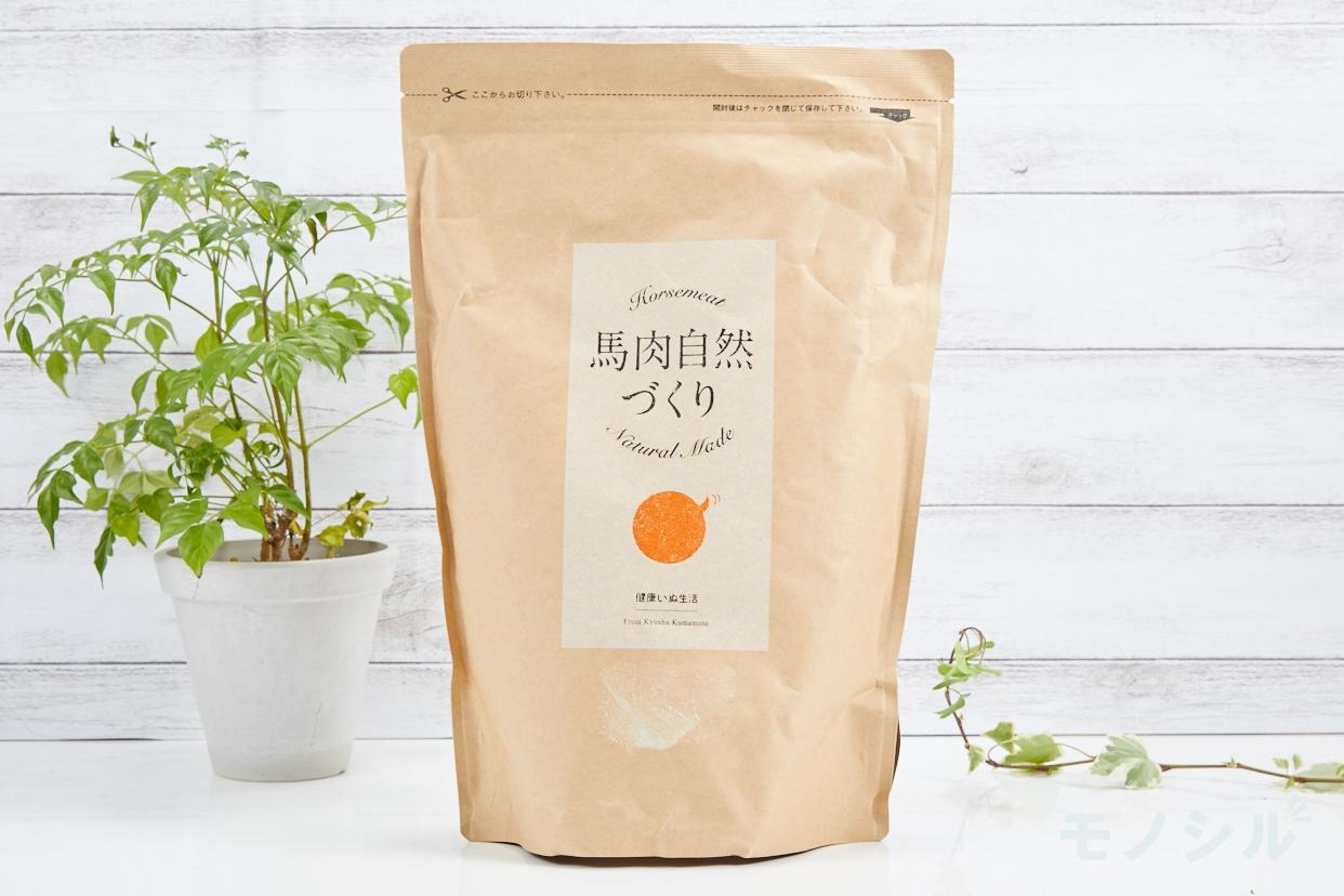 健康いぬ生活(ケンコウイヌセイカツ) 馬肉自然づくり  1kg (1kg×1袋)の商品画像