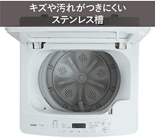 TWINBIRD(ツインバード) 全自動洗濯機 KWM-EC55Wの商品画像7