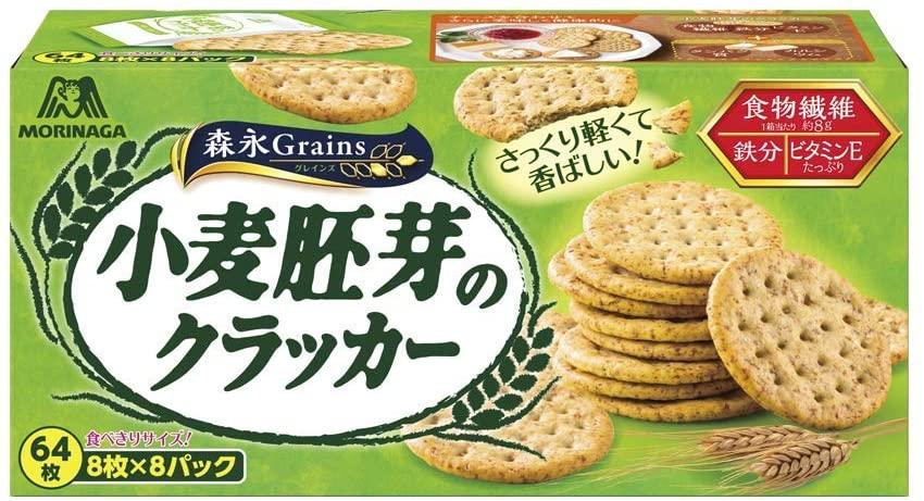 森永製菓(MORINAGA)小麦胚芽のクラッカー