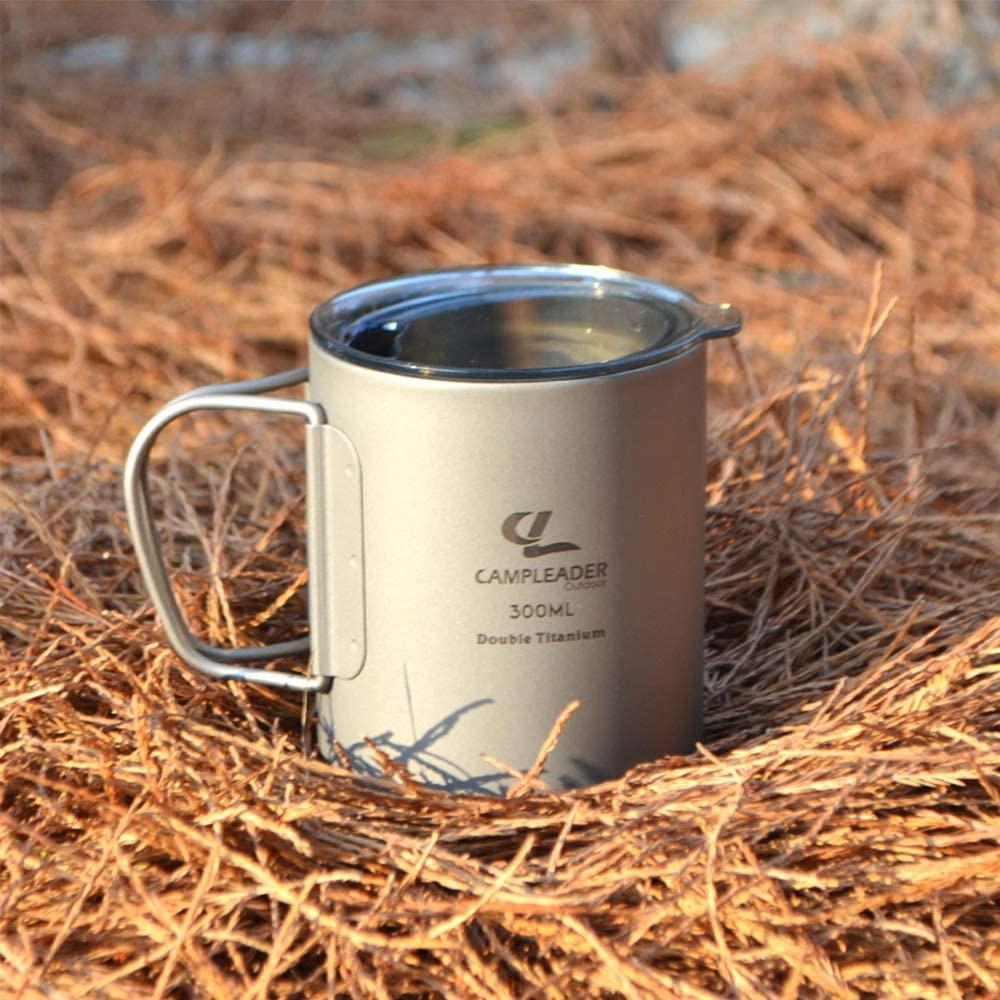 Campleader(キャンプリーダー) チタンコップの商品画像6