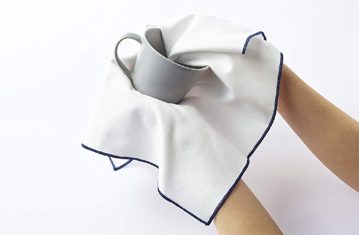 そうじの神様(ソウジノカミサマ)肌触りが優しい 食器拭きクロス ホワイト S081の商品画像4