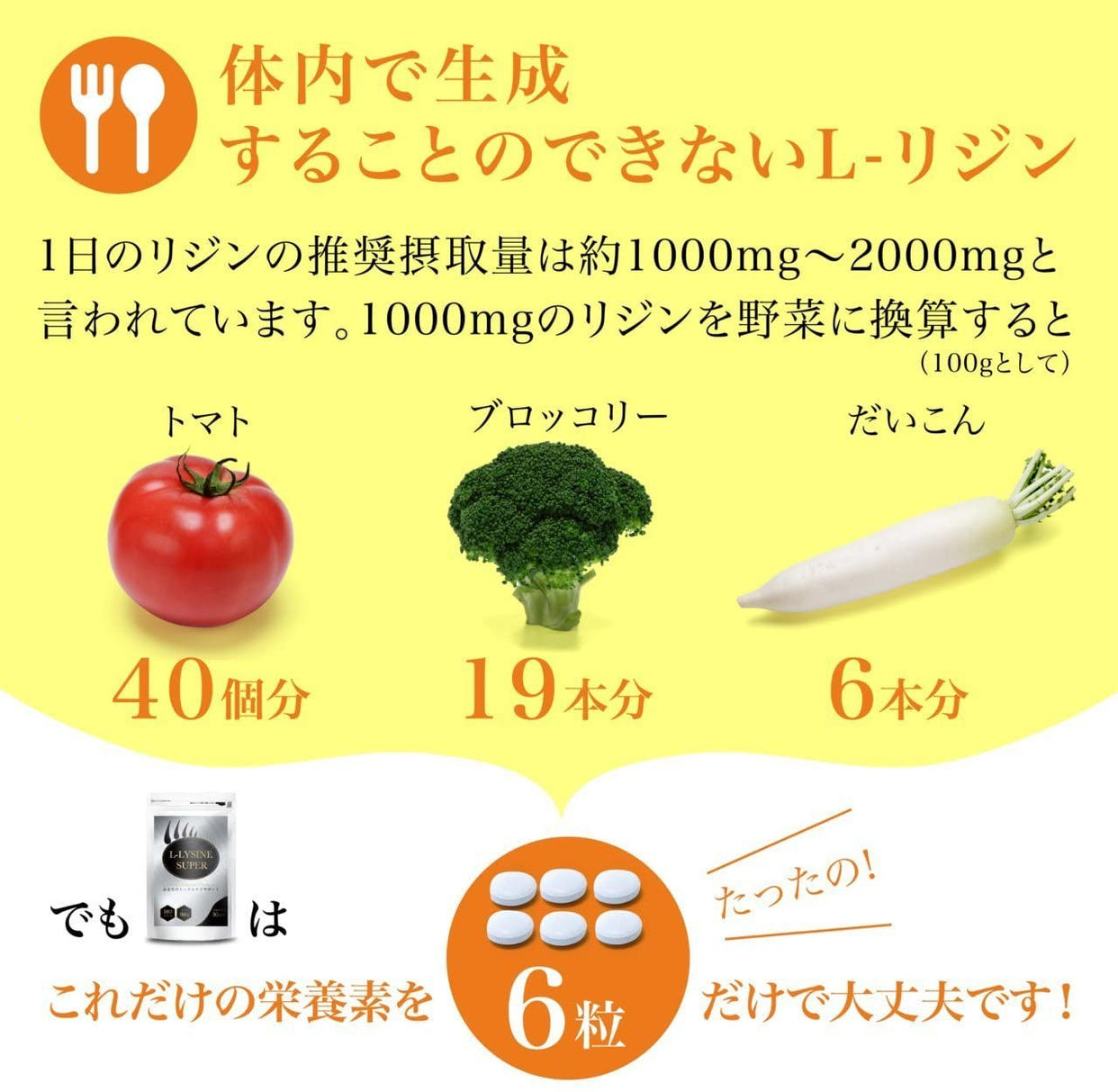 RISEONE(ライズワン) L-LYSINE SUPERの商品画像6