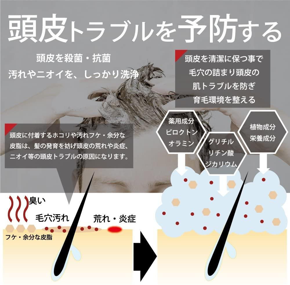 DiNOMEN(ディノメン) 薬用スカルプケア リンスインシャンプーの商品画像9