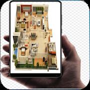 Fajar Azzay(ファジャージー) 3D House Plans Wallpaper