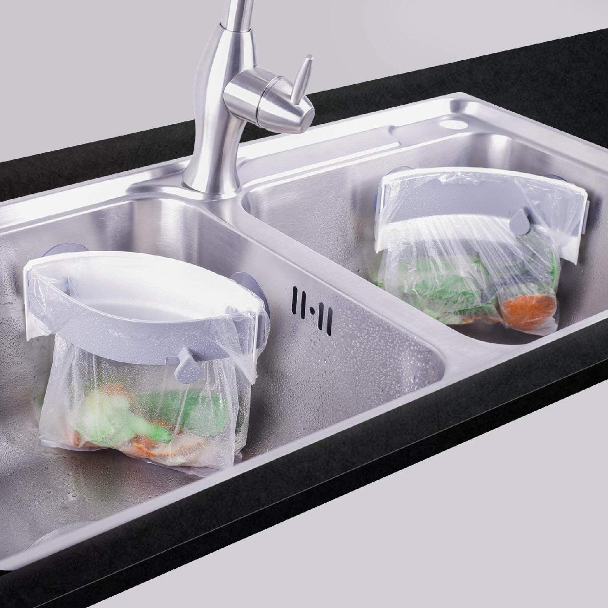 Homekirei(ホームキレイ) 三角コーナー 開閉可能生ゴミ袋ホルダーの商品画像9
