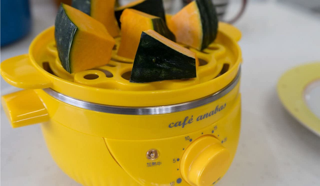 ANABAS(アナバス) ゆで玉子名人&かんたん蒸し器 SE-001の商品画像6